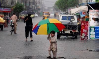 لاہورسمیت ملک کے مختلف حصوں میں بادل پھر برس پڑے ، موسم خوشگوار