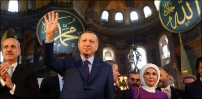 ترک صدر 24 جولائی کو نمازِ جمعہ آیا صوفیہ مسجد میں ادا کریں گے