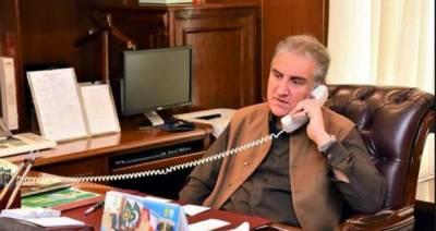 اماراتی وزیر خارجہ کا پاکستانی ہم منصب سے ٹیلی فونک رابطہ، صحت یاب ہونے پر مبارک باد