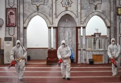حج مقامات کی مساجد سینیٹائز ، انتظامات مکمل