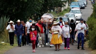 میکسیکو میں کورونا وائرس سے ہونے والی اموات کی تعداد 40 ہزار سے تجاوز کر گئی