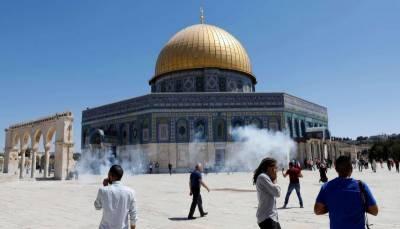 مقبوضہ بیت المقدس:یہودی شرپسندوں کے قبلہ اول پر دھاوے