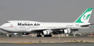 امریکی جیٹ نے ایرانی مسافر طیارے کا راستہ روک دیا