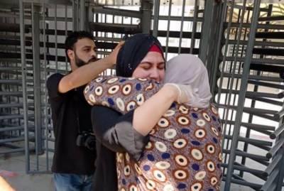 فلسطینی خاتون اسرائیلی جیل سے تین سال بعد رہا