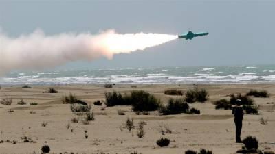 ایران کی جنوبی علاقے میں جنگی مشقیں جاری، زمین میں دبے بیلسٹک میزائل کا کامیاب تجربہ
