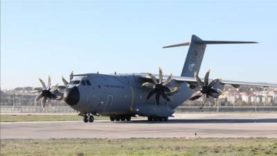 ترکی سے ایک اور طیارہ شامی جنگجوؤں کے ایک گروپ کو لے کر لیبیا پہنچ گیا
