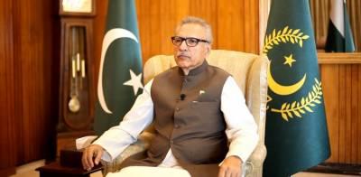 صدر پاکستان کو عہدے سے ہٹانے کی درخواست خارج، درخواست گزار پر 10 ہزار روپے جرمانہ