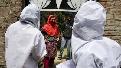 مقبوضہ کشمیر میں کورونا وائرس بے قابو