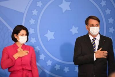 برازیل کے صدر کے بعد خاتون اول بھی کورونا وائرس کا شکار