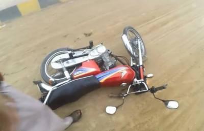 سرگودھا: موٹر سائیکل، ٹر یکٹر ٹرالی میں تصادم، 2 جاں بحق