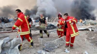 بیروت میں خوفناک دھماکے، ہلاکتوں کی تعداد 78 ہوگئی