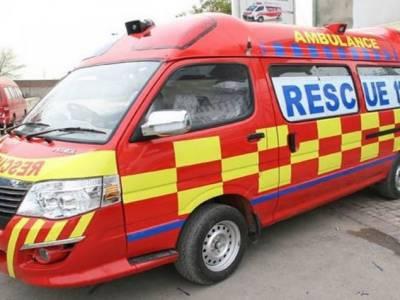 شیخو پورہ:ٹریفک حادثہ میں 2 افراد جانبحق،4 زخمی ہوگئے