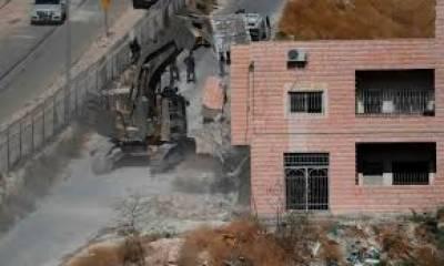 اسرائیلی فوج نے مقبوضہ بیت المقدس میں تین مکانات مسمار کردیئے