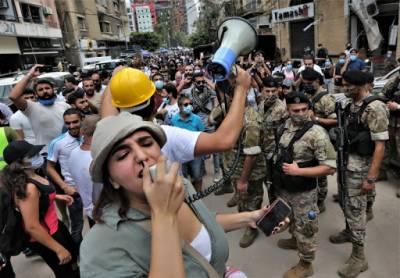 بیروت دھماکے:لبنان میں حکومت مخالف مظاہرے شروع ہو گئے