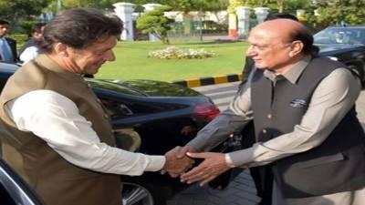 پنجاب کے وزیراعلیٰ عثمان بزدار نے بھی وزیراعظم عمران خان سے ملاقات کی