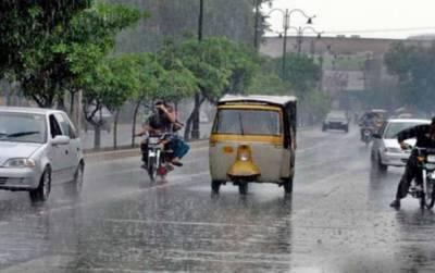لاہور کے مختلف علاقوں میں بارش سے حبس کی شدت میں کمی