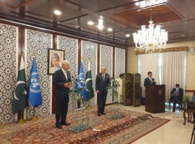 دنیا کو کورونا سے نمٹنے کیلیے پاکستان سے سیکھنے کی ضرورت ہے: وولکن بوزکر