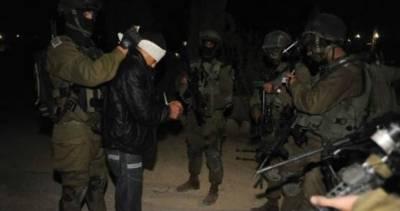 اسرائیلی فوجیوں نے مغربی کنارے سے متعدد فلسطینی گرفتار کر لیے
