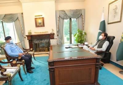 وزیراعظم سے آئی جی اسلام آباد کی ملاقات, تجاوزات اور قبضہ مافیا کے خلاف سخت آپریشن کی ہدایت
