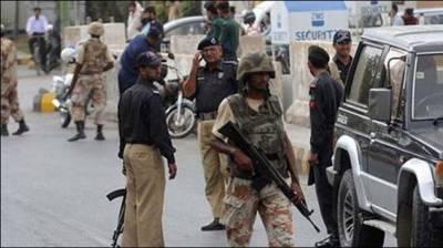 ملیر میں پولیس اور رینجرز کا مشترکہ آپریشن،38افرادگرفتار
