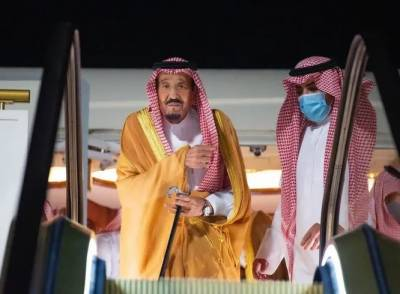 سعودی فرماں روا شاہ سلمان آرام کی غرض سے نیوم پہنچ گئے
