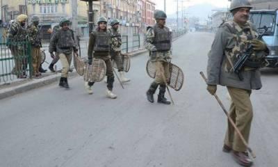 سری نگر اور جموں فوجی چھاونی میں تبدیل، سری نگر میں نئے فوجی بنکر قائم