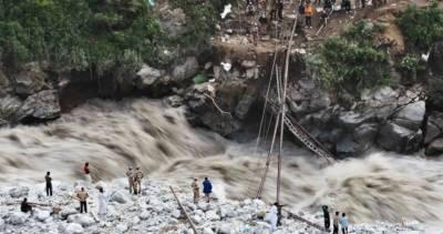 چترال: گلیشیئر پھٹ گیا، ندی نالوں میں سیلاب، لڑکی جاں بحق