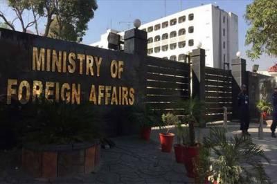 بھارت کےاعلیٰ سفارتکار کی دفتر خارجہ طلبی،جنگ بندی خلاف ورزیوں پرشدید احتجاج