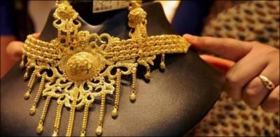 سونے کی قیمت میں 13 ہزار روپے کمی