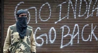 بھارت کے یوم آزادی کے موقع پر مقبوضہ کشمیر میں یوم سیاہ