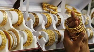 ملک میں ایک تولہ سونے کی قیمت میں 400روپے کا اضافہ