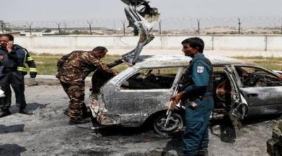 کابل میں مارٹر گولے کا حملہ، بچوں سمیت 10 افراد زخمی