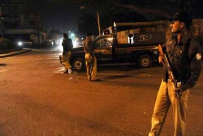 کراچی:بلدیہ ٹاون میں پولیس مقابلہ کالعدم تنظیم کے دو دہشت گرد ہلاک
