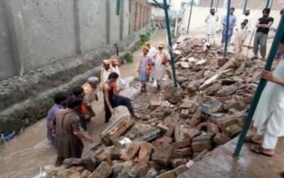 پنجاب میں بارش کے سبب مختلف حادثات میں13 افراد جاں بحق ہو گئے