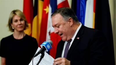 امریکہ کا ایران کے خلاف پابندیاں عائد کرنے کے لئے سلامتی کونسل کو خط، اسرائیل نے حمایت کردی۔