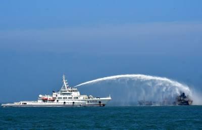 چین میں 2 بحری جہازوں میں تصادم، ایک جہاز ڈوب گیا