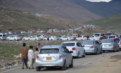 10 روز میں 6 لاکھ سے زائد سیاحوں کی شمالی علاقہ جات آمد