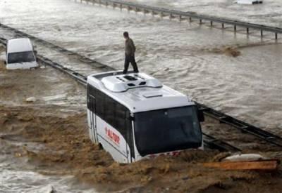 ترکی،سیلاب سے4افراد ہلاک،11لاپتہ