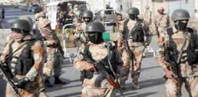 کراچی: رینجرز کی مختلف علاقوں میں کارروائیاں، 10ملزمان گرفتار