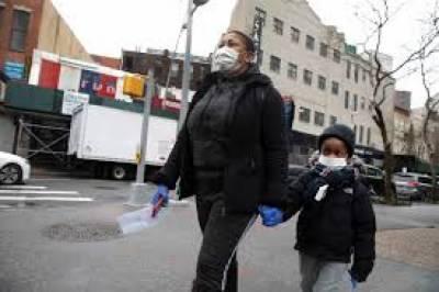 امریکہ میں مہلک وائرس کے باعث ایک لاکھ 82 ہزار سے زائد افراد ہلاک
