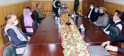 کابینہ کا مختلف محکموں کی ترقی سے متعلق امور پر غور