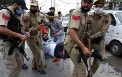 بھارتی فورسز کی محرم الحرام کے جلوس نکانے والے عزاداروں پر پیلٹ گن سے فائرنگ، 40 کشمیری زخمی