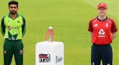 دوسرا ٹی ٹوئنٹی: انگلینڈ کا پاکستان کے خلاف ٹاس جیت کر فیلڈنگ کا فیصلہ