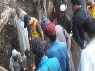 مانسہرہ: مٹی کا تودہ مکان پر گرنے سے 4 افراد جاں بحق