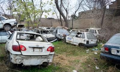 پنجاب بھر کے سرکاری محکموں کی سکریپ میں کھڑی گاڑیوں کے پرزے چوری ہونے کا انکشاف