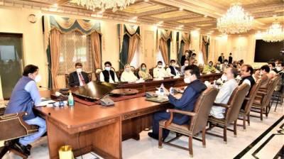 وزیراعظم سے تحریک انصاف اور اتحادی جماعتوں کے اراکین سینیٹ کی ملاقات