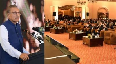ادارہ جاتی ترقی سے ملک میں اقتصادی صورتحال میں بہتری آئے گی،صدر ڈاکٹر عارف علوی