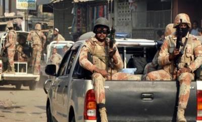 کراچی،رینجرز کی کارروائیاں، 5 ملزمان گرفتار