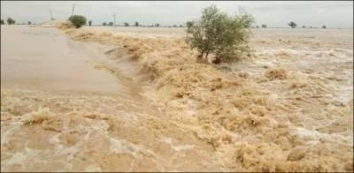 سندھ میں بڑا سیلاب آ رہا ہے، الرٹ جاری