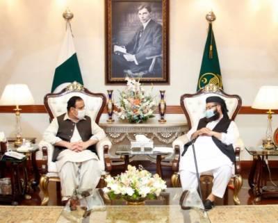 وزیراعلیٰ پنجاب سردار عثمان بزدار سے پاکستان علماء کونسل کے سربراہ مولانا طاہر محمود اشرفی کی ملاقات